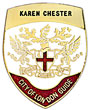 Karen Chester's City of London Badge